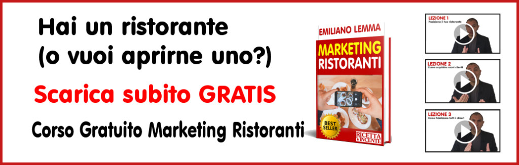 Marketing ristoranti